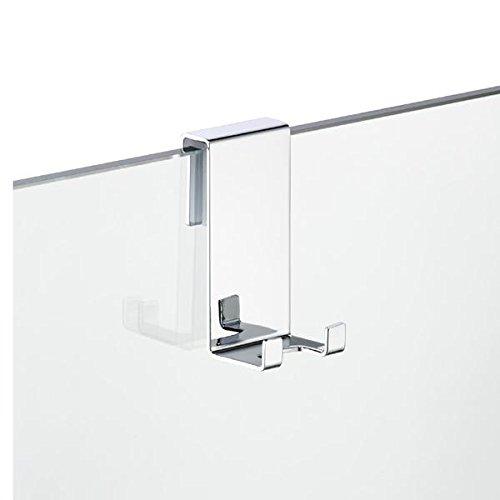 Preisvergleich Produktbild AVENARIUS Halter für Duschabtrennung; mit 2 Haken,  für 6, 8, 10 mm,  Serie Univ.