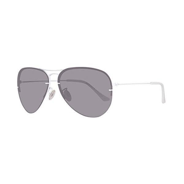 United Colors of Benetton BE922S02 Gafas de sol, White/Grey, 60 Unisex