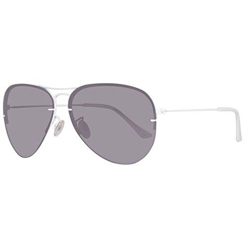 BENETTON BE922S02, Gafas de Sol Unisex, White/Grey, 60