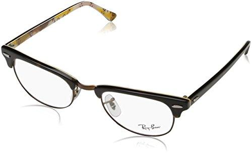 Ray-Ban Unisex-Erwachsene Brillengestell 0rx 5154 5650 51 Braun (Havana On Tex Camuflage),
