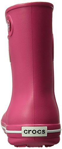 Crocs Jaunt Shorty Boot W, Boots - Femme Rouge (Raspberry)