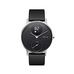 Withings Unisex's Steel HR-Heart Rate and Activity Watch, Black, 36mm