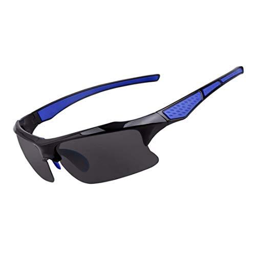 Retro Vintage Sonnenbrille, für Frauen und Männer Radfahren im Freien Sport Sportler Sonnenbrille für Radfahren Angeln Golf Superlight Frame (Farbe : 04)
