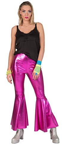 Jahre Kostüm 70er Kinder Disco Fever - Karneval-Klamotten Disco Kostüm Damen 70er Jahre Hose Damen Disco Hose Disco Fever Kostüm pink Größe 36/38
