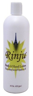 Rinju Body & Hand Lotion 16oz Enriched With Vitamin-E (2 Pack)