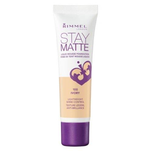 (3 Pack) RIMMEL LONDON Stay Matte Liquid Mousse Foundation - Ivory
