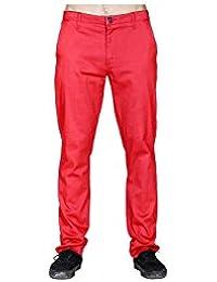 Volcom REM Chino Pant Lumber Jack Red