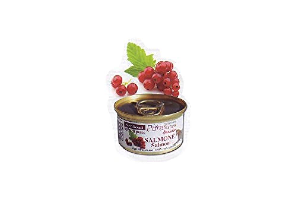 PURA NATURA Salmon Ribes Steril Wet Cat Futter Premium