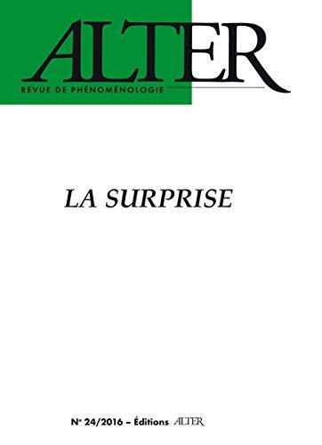 La surprise (Alter n°24, 2016) par Collectif