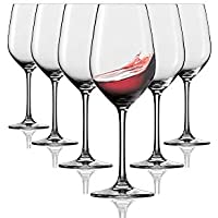 Vasos de vino tinto Tivoli Durban - Set de 6-350 ml - Apto para lavavajillas - Hecho en Francia