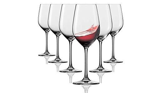 Tivoli Durban Rotweingläser - aus 6-350 ml - Spülmaschinenfest - Made in France