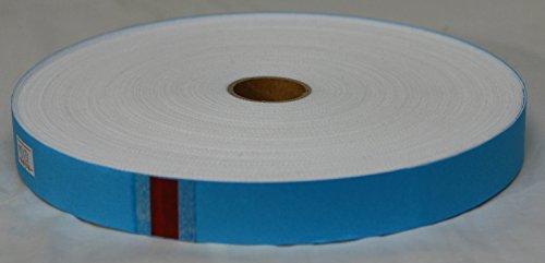 8 mm large-par mètre Berties Bows-Rouge /& Blanc Herringbone Noël Ruban
