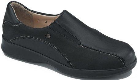 Finn Comfort Séoul 2483 - Noir - Noir, 37 EU Noir