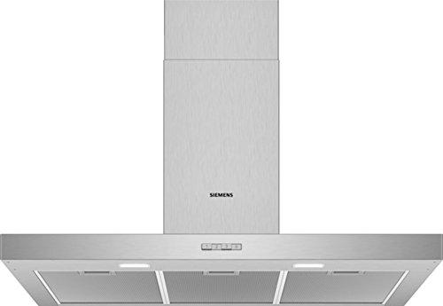 Siemens LC94BBC50 Dunstabzugshaube/Wandhaube / 90 cm/Metall-Fettfilter/Box markenübergreifend/Edelstahl