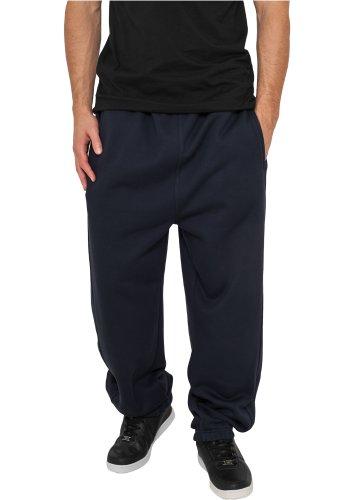Urban Classics Damen Hose Loose Fit Sweatpants Blau-4