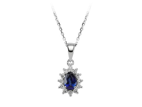 entourage-saphir-diamant-halskette-18-gold