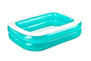 Bestway 54150 Family - Piscina Hinchable para niños, 305 x 183 x 46 cm, Color Azul