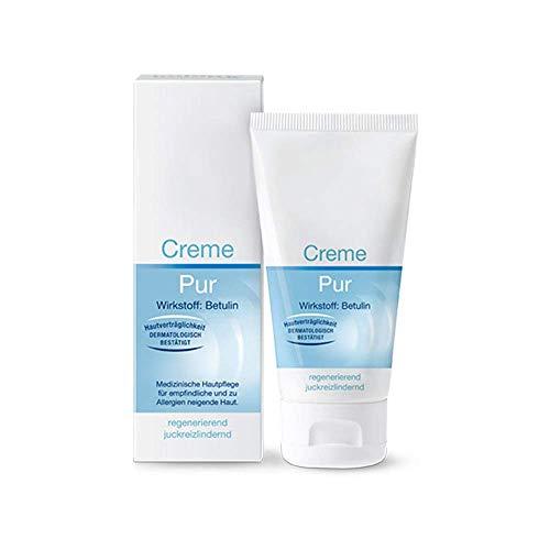 Imlan Creme Pur mit Betulin, Geeignet für entzündete, gerötete, juckende oder empfindliche Haut, 50 ml.