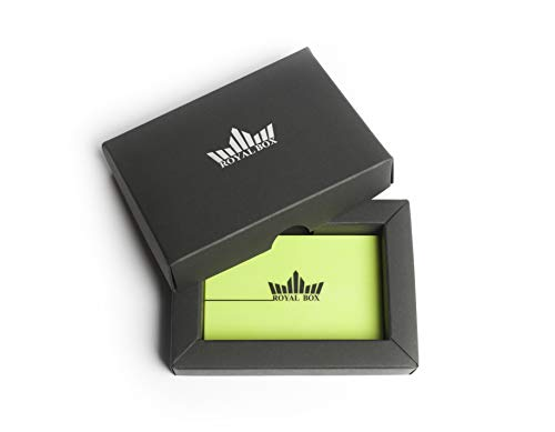 Royal Box Dosificador Sniff con Tubo/Snorting Kit/Snuffer de Rape/Dispensador de Tabaco/Verde