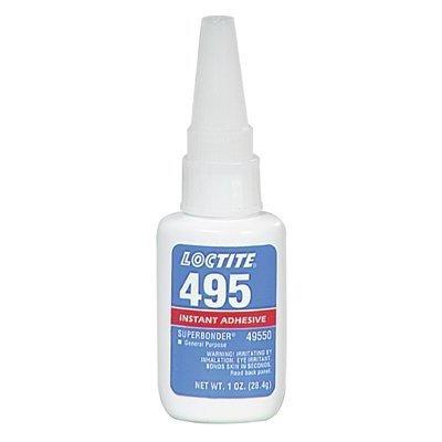 LOCTITE CC486 495 Bonder Instant Adhesive (Transparent)