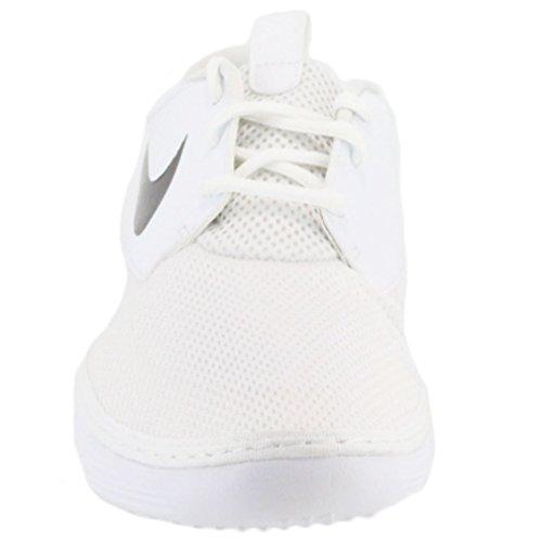 Mens Solarsoft Mocmens Chaussures White / Black-White