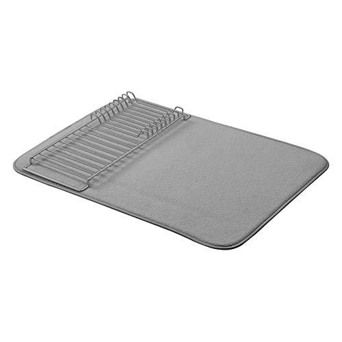 AmazonBasics Égouttoir - 47,7 x 60,9cm - Gris anthracite/Nickel