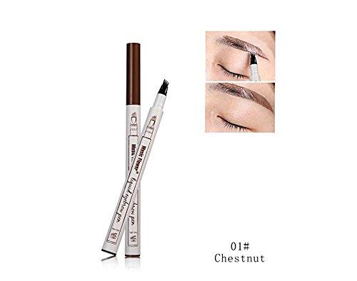 Sun Glower Qualitätswaren Wasserdichte lang anhaltende Augenbraue Gel Augenbrauenstift mit Vier...
