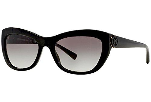 Giorgio Armani Für Frau 8029 Black / Grey Gradient Kunststoffgestell Sonnenbrillen