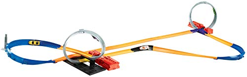 Hot Wheels- 10 en 1 Track Set, Y0267, Multicolore
