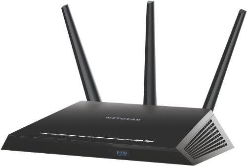 Netgear-R7000-100PES-Nighthawk-Router-Wireless-AC1900-Mbps-Processore-Dual-Core-a-1-GHz-Dual-Band-4-Porte-Gigabit-1-Porta-WAN-Antenne-Esterne-Nero