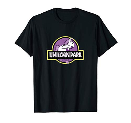 Unicorn Park cute kawaii fantasy animal magic for kids T-Shirt -