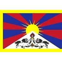 El Tíbet–la nieve de León Bandera 150cm x 90cm