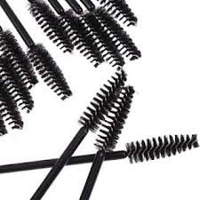 50pcs jetable cils mascara noir Baguette brosse d'applicateur par Boolavard ® TM