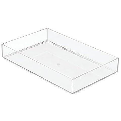 InterDesign 20.5 x 30.5 x 5 cm Clarity Drawer