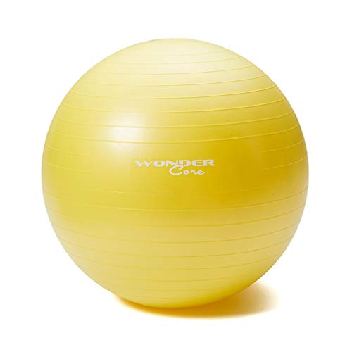 wondercore Exercise Ball for Gym Fitness Workouts and Physio Training  Anti-Burst   Anti- a2e9e72bca0