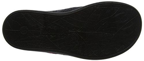 Romika Damen Gomera 08 Pantoffeln Mehrfarbig (schwarz-kombi (101))