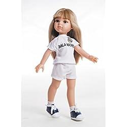 Muñeca Real Madrid Carla, 32cm