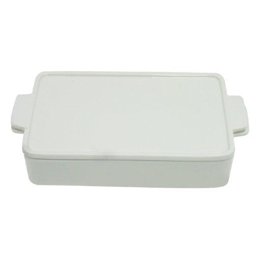 Better & Best 2071141Wende-Quelle Tisch rechteckig klein mit Deckel, weiß