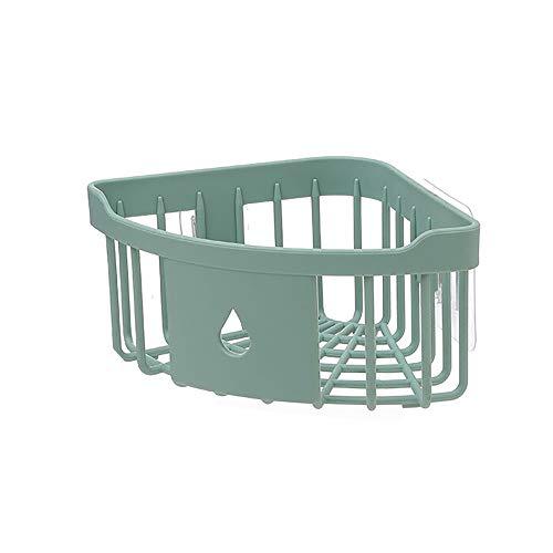 Yvelands Mensola di plastica dell\'acquazzone dell\'organizzatore della cremagliera dell\'angolo di stoccaggio della Cucina del Bagno