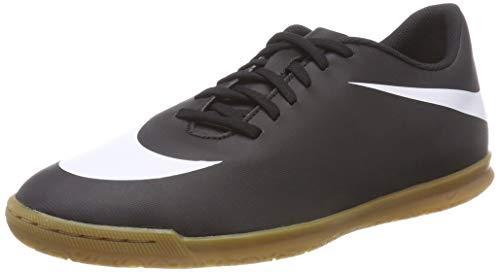 Nike Bravata II IC, Scarpe da Calcetto Indoor Uomo, Nero White-Black 001, 42.5 EU