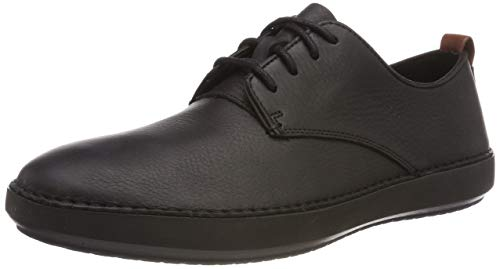 r Walk Derbys, Schwarz (Black Leather), 44 EU ()