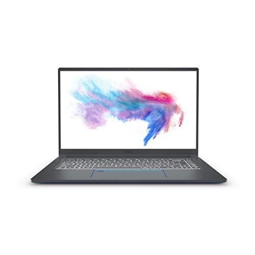 MSI Prestige 15 A10SC-002IT Notebook, 15,6' FHD, Intel Core i7 10710U, 16GM RAM, 512GB NVMe SSD, Nvidia GTX 1650 Max-Q GDDR5 4GB [Layout italiano]
