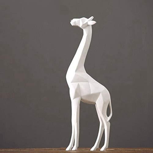 MAFYU Kreative Geschenke Harz-Handwerk Origami Giraffe Schmuck Größe: 39 * 14cm