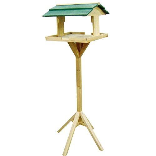 Redwood BB-BH303 Vogelhäuschen, Holz, mit Standfuß (Holz Nesting Tables)