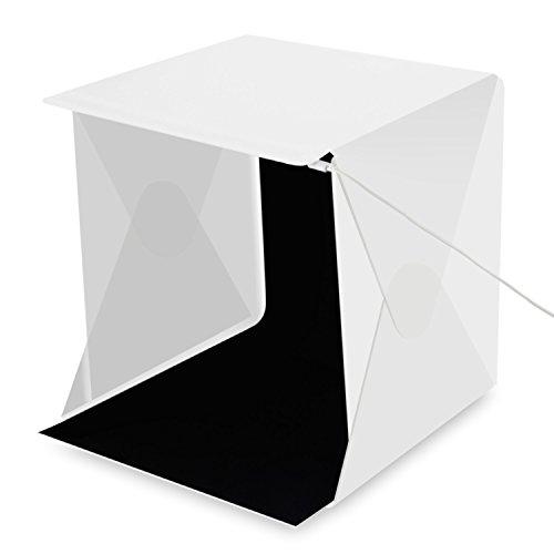 Amzdeal Kit tenda Studio fotografico di 30 x 30 x 30 cm con una striscia (Le Studio)