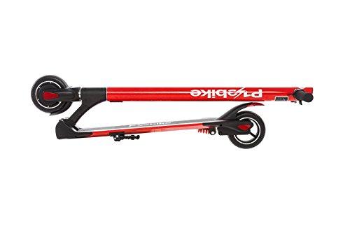 E-Scooter Klappbar Roller Scooter Elektroroller Carbon - Reichweite bis zu 35km 25 km/h P1 PowerOne (Rot) - 2
