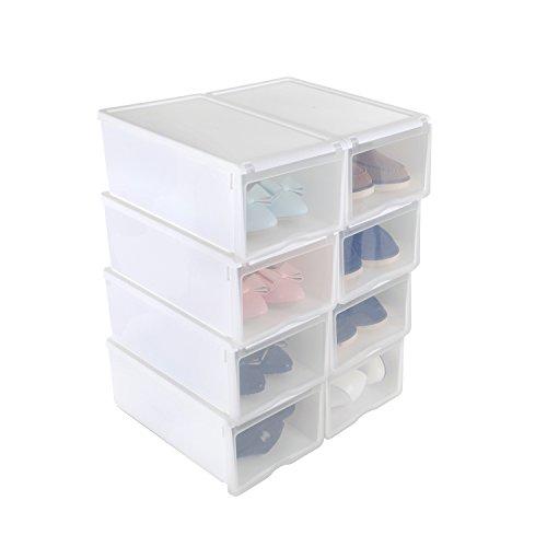 Organizador transparente localiza tus cosas con una for Cajas de plastico transparente