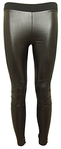 gnc-basic-ladies-leggings-with-faux-leather-panels