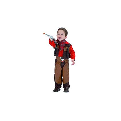 El Rey del Carnaval - Disfraz vaquero talla 2 años Disfraz Vaquero