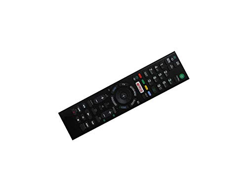 Calvas Fernbedienung für Sony FWL-65W855C KDL-65W859C KDL-65W858C KDL-65W857C FWL-40W705C FWL-48W705C FWL-55W805C LED HDTV TV